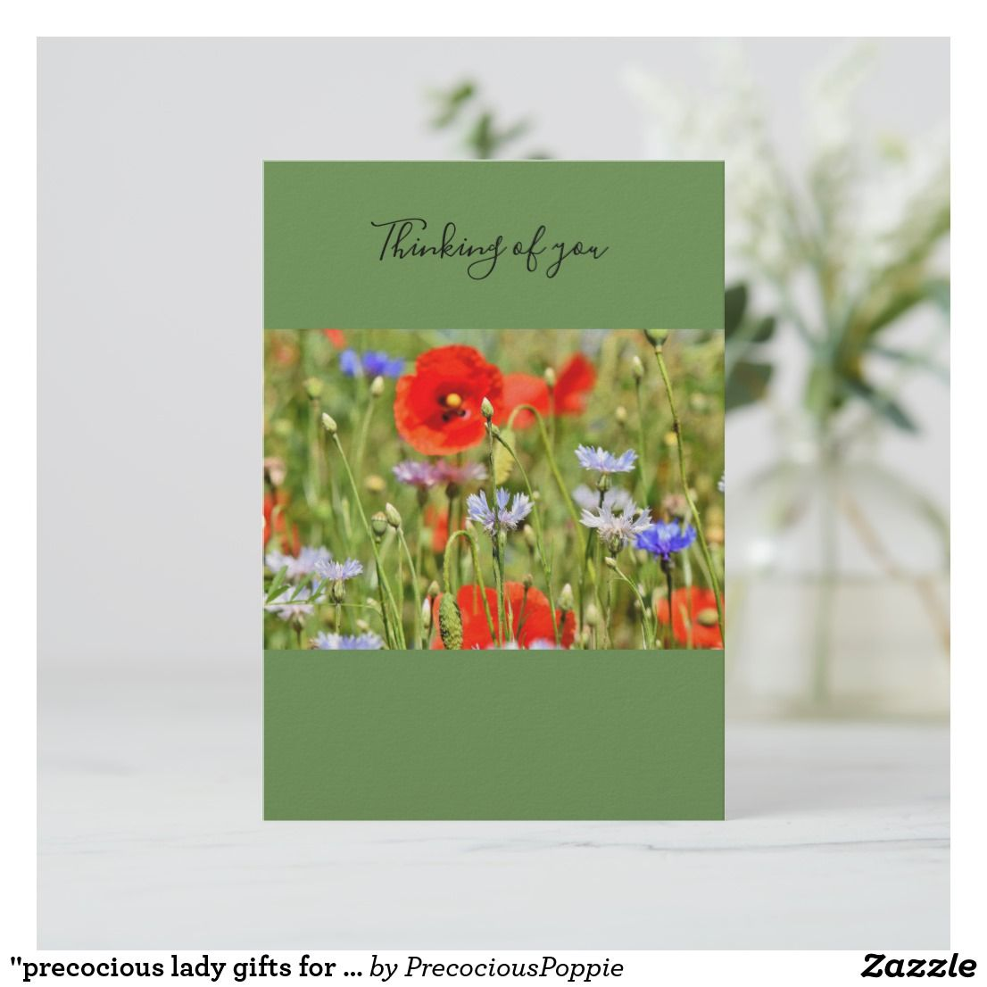 Card when you are thinking about someone special zazzle
