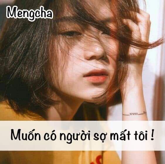 ღ SAVE = FOLLOW ME 。◕‿◕ 。#Mengcha ღ #Stt #Quotes #Cap