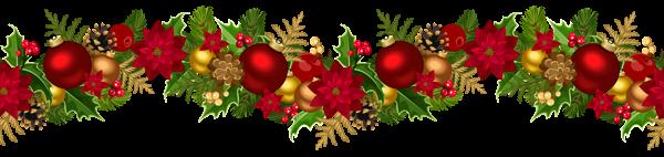 Christmas Decorative Garland Png Clip Art Image Christmas Wreath Clipart Christmas Garland Garland Decor