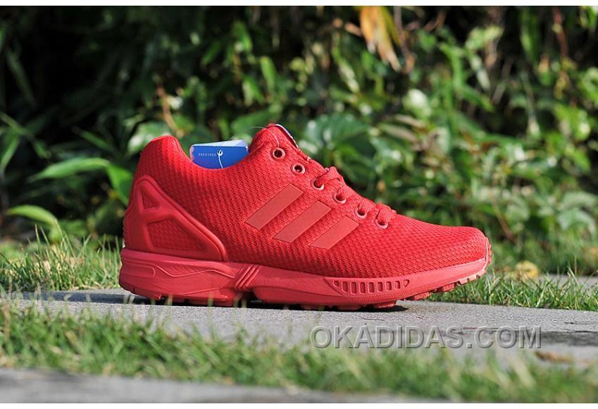 prix le plus bas c78df 32941 coupon adidas zx flux tout rouge cc965 0e59c