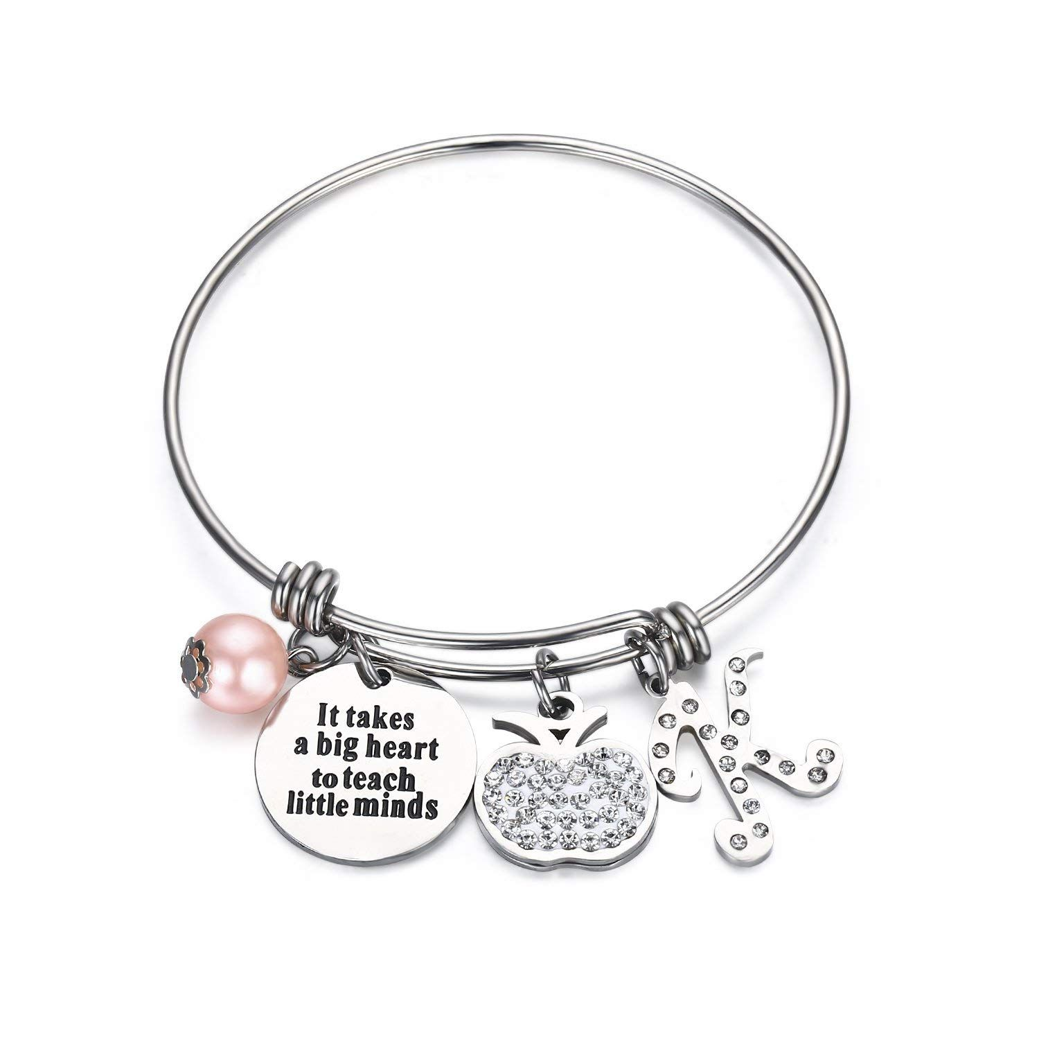 Udobuy Teacher Bangle Bracelet-Teacher Gift, Show
