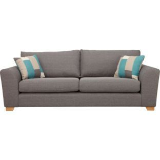 449 99 Ashdown Extra Large Sofa Grey At Argos Co Uk