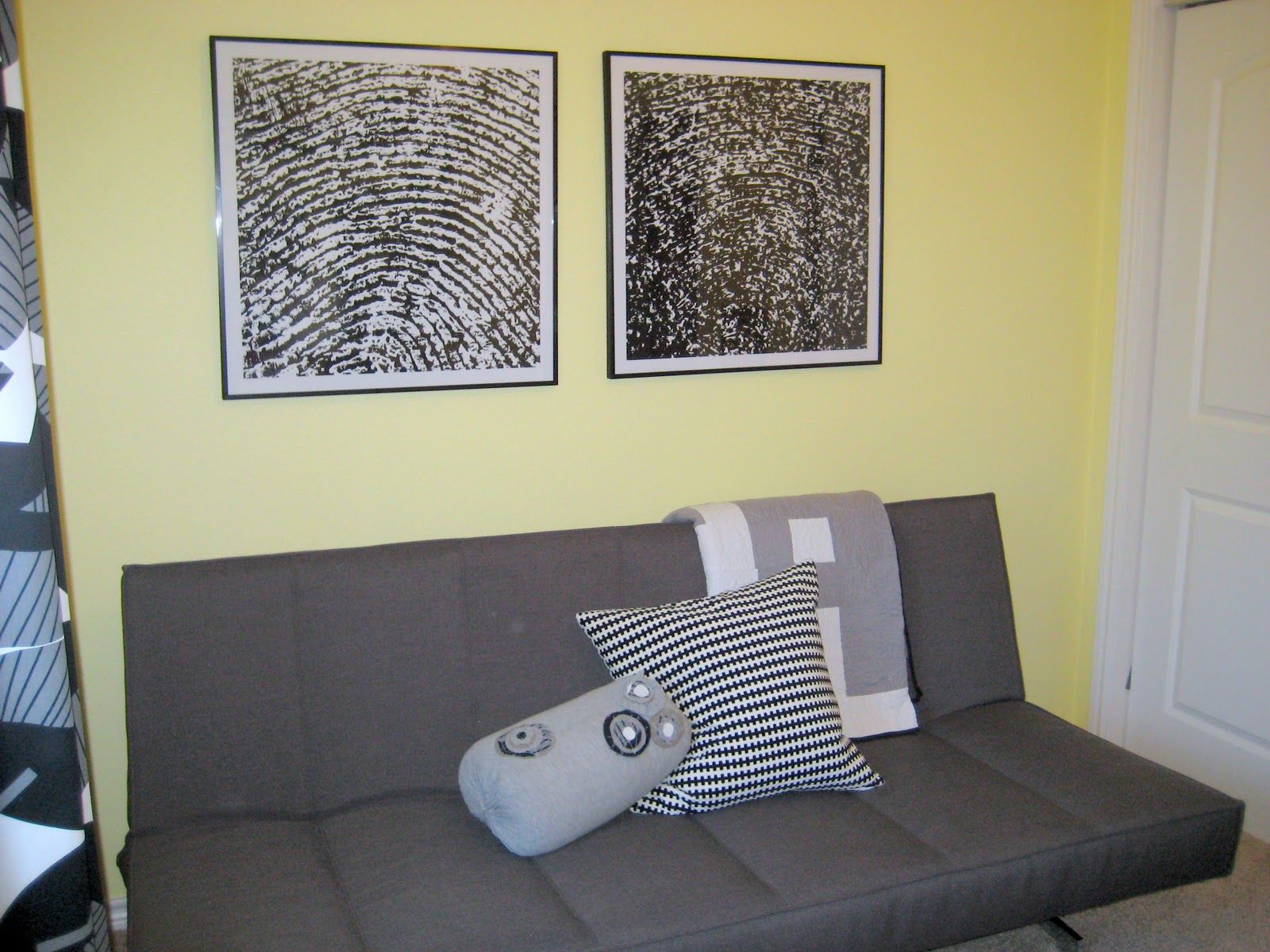73: Giant Framed Thumbprints | Artwork, Craft and House