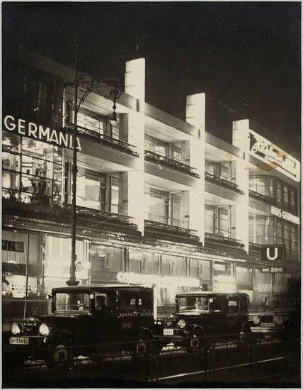 Berlin, Hardenbergstraße 29 a-e, Germania Haus. Fotografie, Markwardt, Curt…