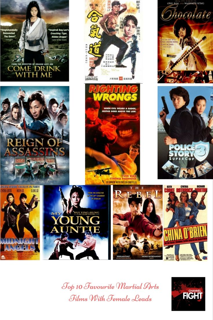 Angelfist top 10 favourite martial arts films with female leads