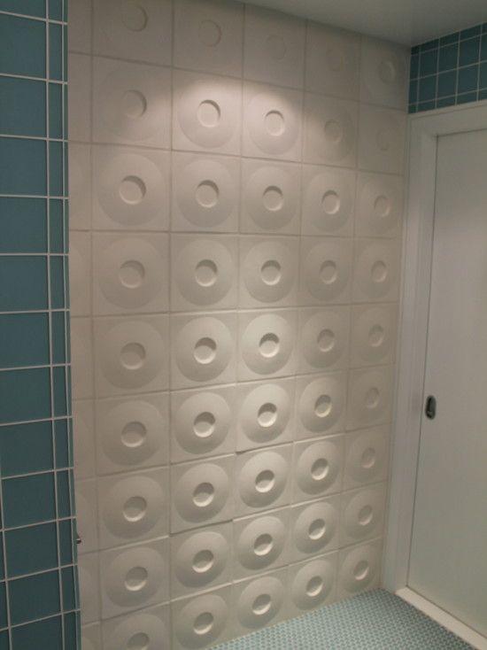 Jazzy Interior Wall with Fashionable Decoration : Fascinating Bathroom Design White Door West Village Modern