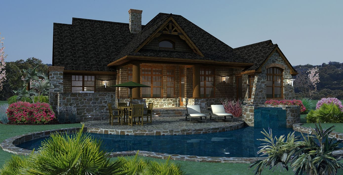 the vita encantata house plan scaled down just a bit from
