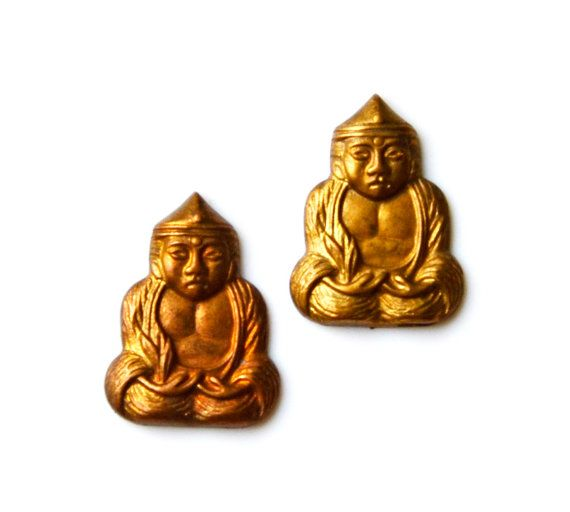 Vintage Buddha Cufflinks Set, Gift Box Included, Guaranteed