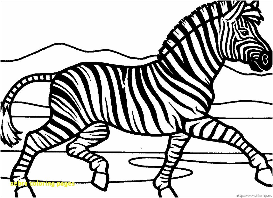 Coloring Page Zebra Of Without Stripes Printable Zebrafish Free Pages Easy Lets Amazing Sheet Image Inspirations