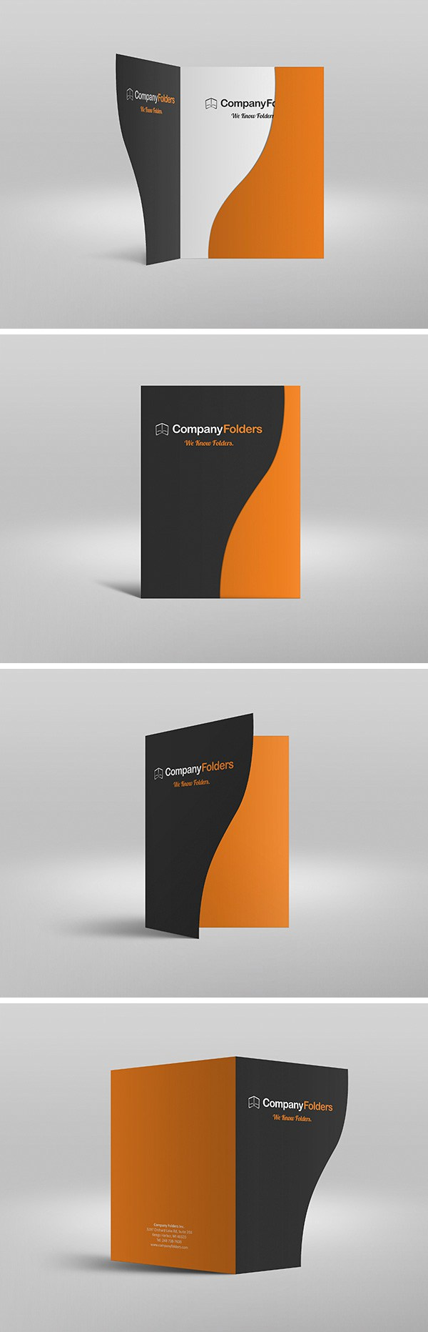 serpentine presentation folder mockup mockup catalog more