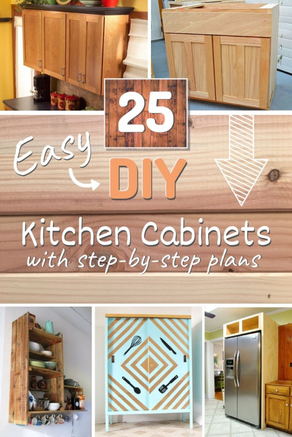 want to build your own kitchen cabinets? it's doable. here