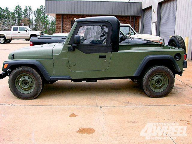 2007 Jeep T1 Built In Egypt And Based On Tj Predecessor To J8 Based On Jk Jeep Jeepster Willys