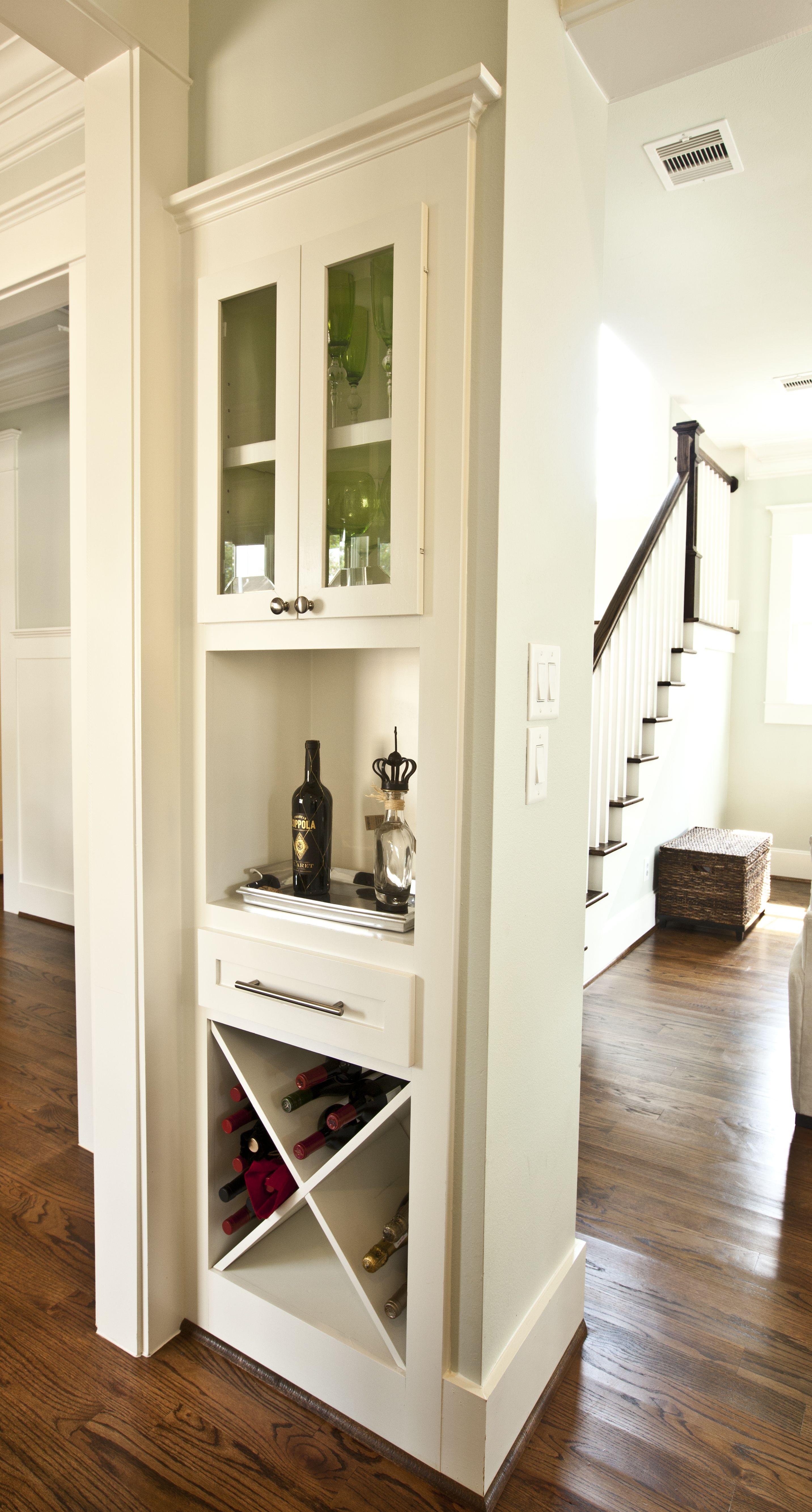 Built In Mini Bar Around The Corner Bars For Home Built In Wine Rack Living Room Remodel