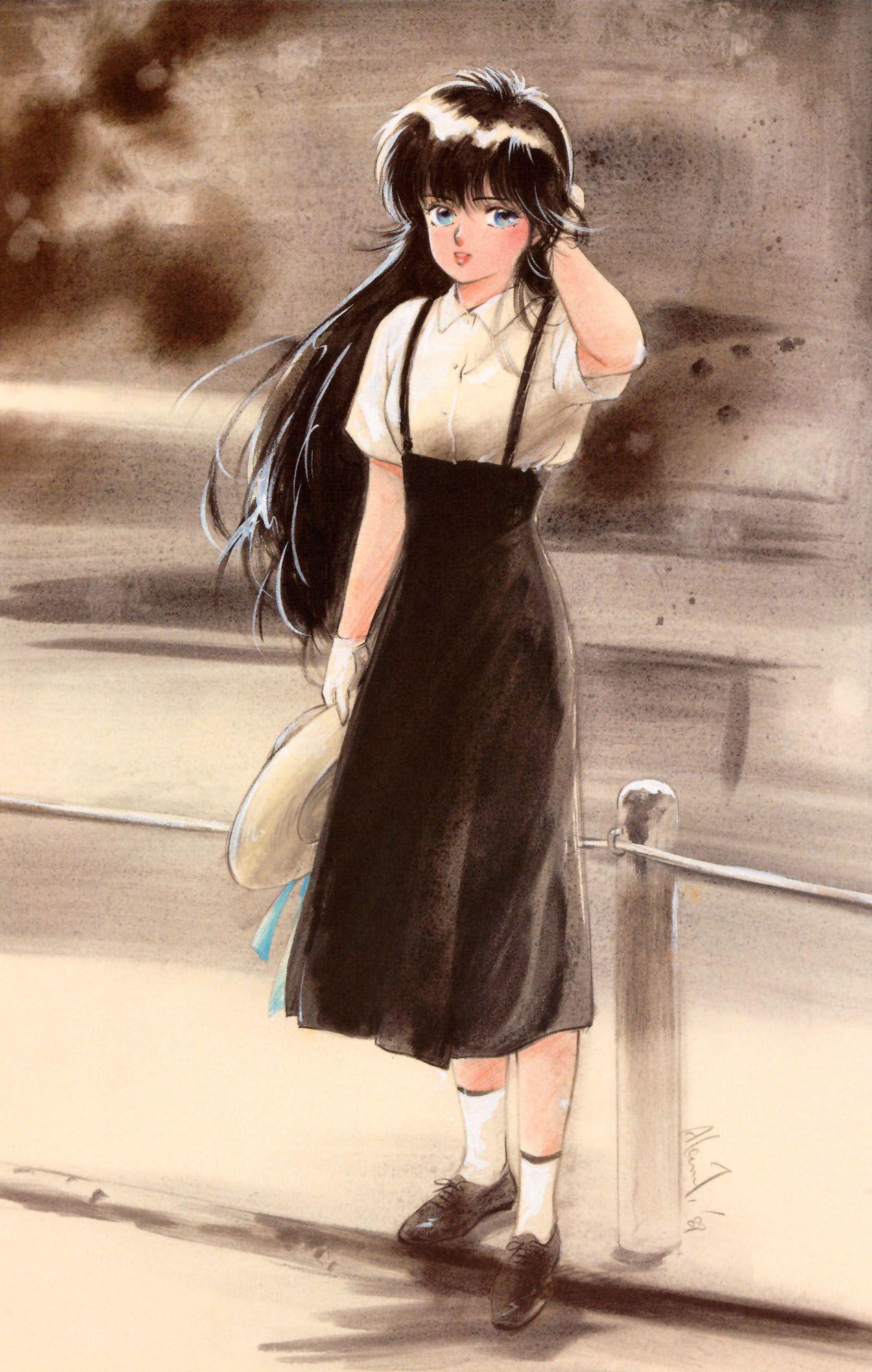 "Madoka Ayukawa from ""Kimagure Orange Road"" series by manga"