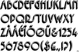 1930s fonts - Google Search | fonts | Typography fonts, Fonts, Font