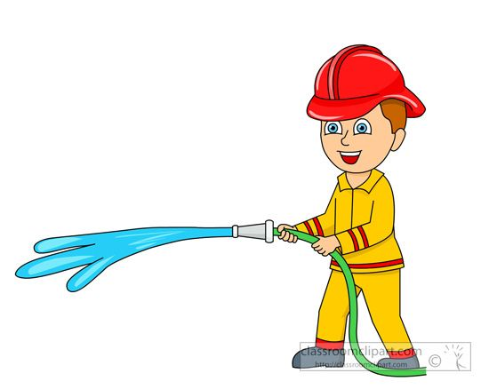 clipart fireman - photo #35