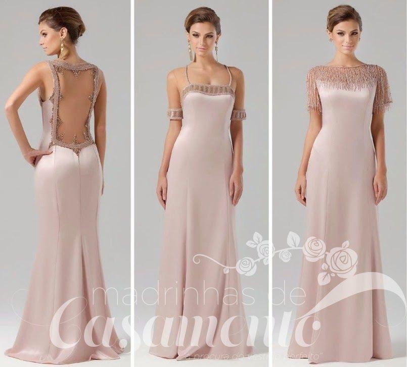 Elegantes Lindos E Rom 226 Nticos Vestidos Para Madrinhas E