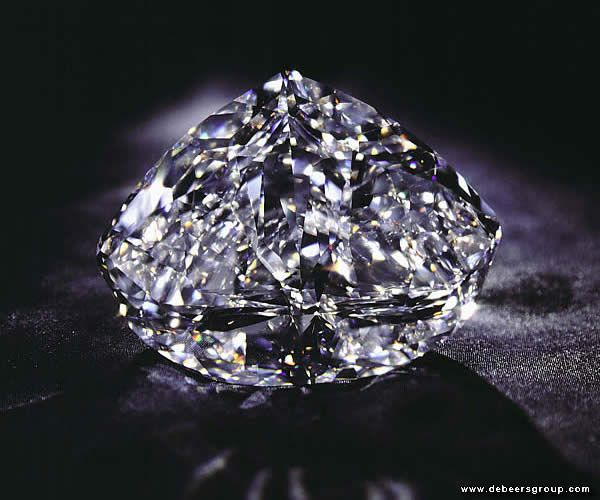 The Centenary Diamond ranks as one of the biggest high quality diamond for three of your major Cs: Carat, Color, and Clarity. This diamond was discovered in 1986 at the Premier Mine, the same mine that yielded the Cullinan Diamond. At 273.85 carats, this diamond has flawless clarity and D color, the highest grade of colorlessness and certified by the GIA. The whereabouts of the diamond are currently unknown; it was purchased anonymously in 2008.