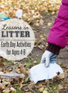What is Litter Earth Day Activities for Young Children  Giorno