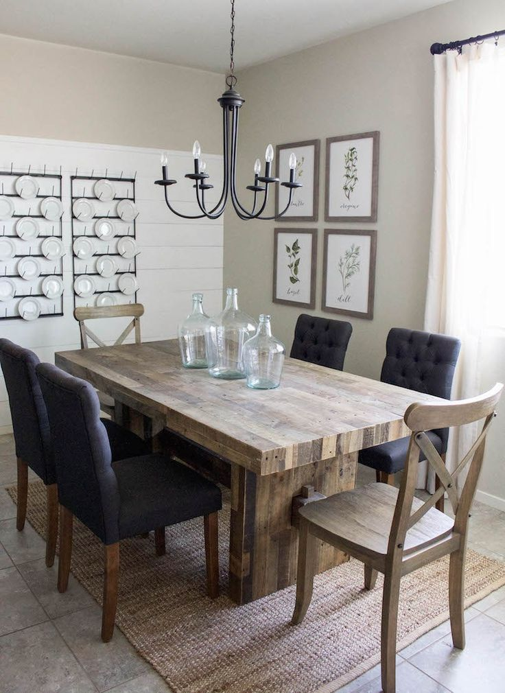 40  DIY Farmhouse Table Plans the Best Dining Room Tables You ll     Build a stylish kitchen table with these free farmhouse table plans  They  come in a variety of styles and sizes so you can build the perfect one for  you