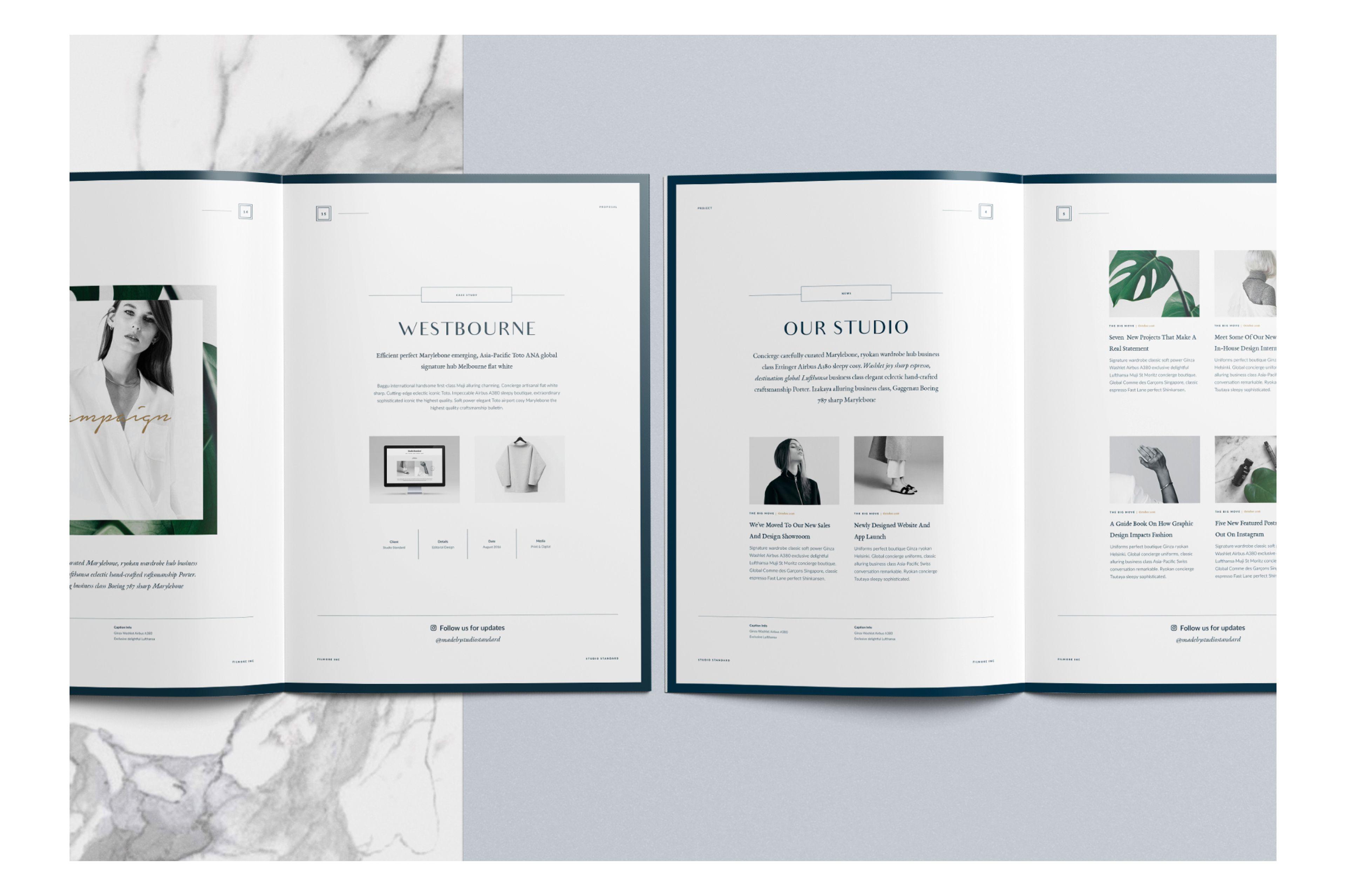Filmore Fashion Proposal on Behance   Web, print, branding