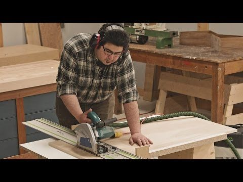 Track Saw Crosscut Table Youtube Woodworking Jigs Woodworking Garage Workshop