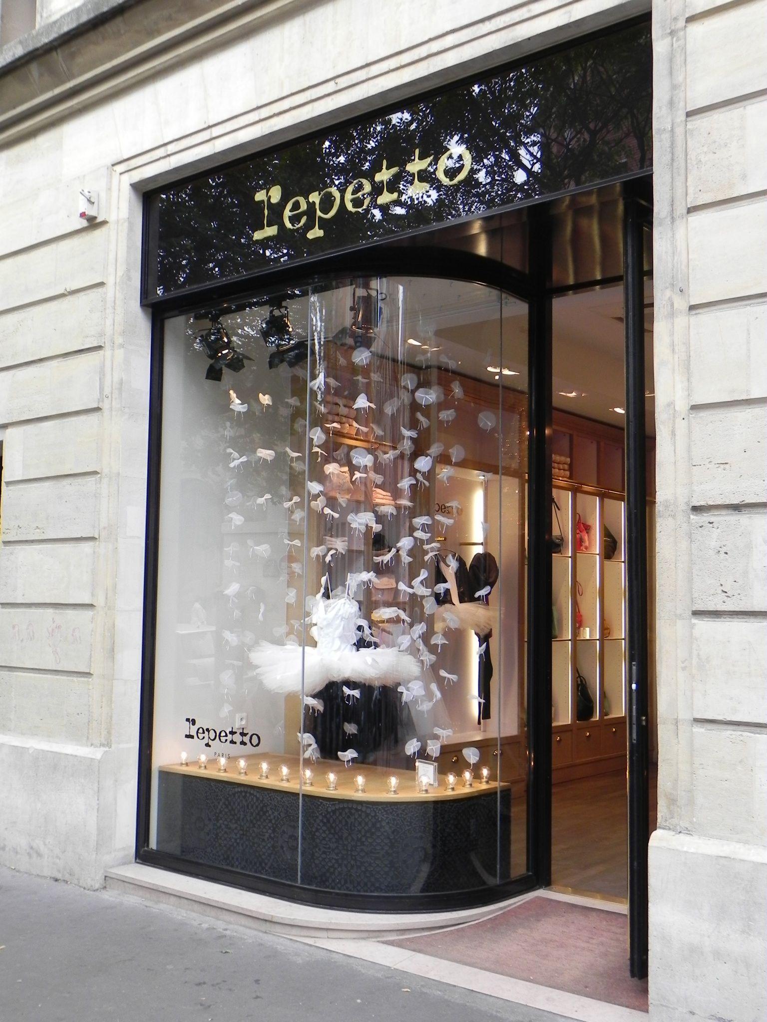Repetto Tiendas en París. París y Tiendas
