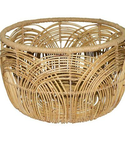 Decorative Baskets As Plant Holders Cococozy Rattan Basket Large Baskets Basket