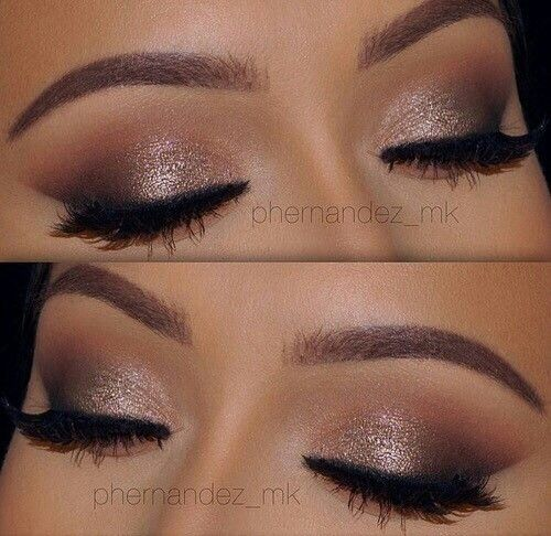 Nice natural, soft smokey eye