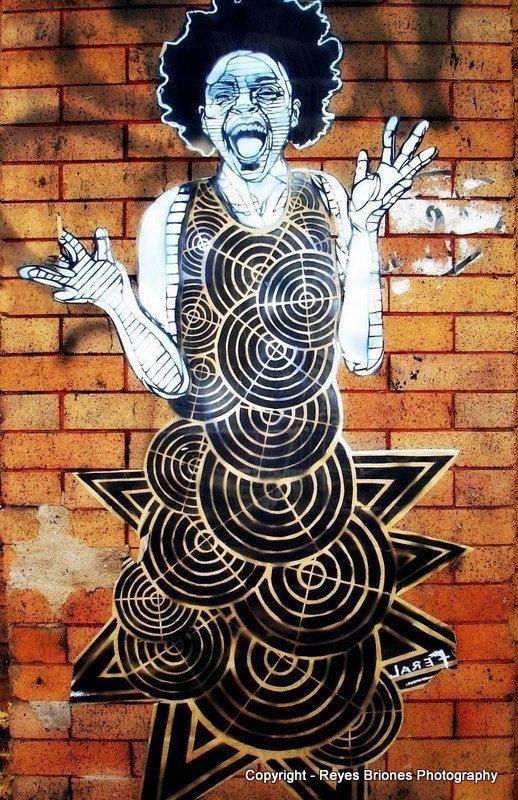 Street Art Brooklyn Girl New York Blank by OaklandStudios