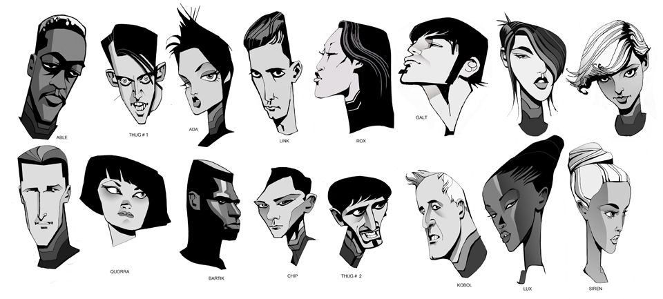 The Art of Tron: Uprising (Part 1 of 4): Characters