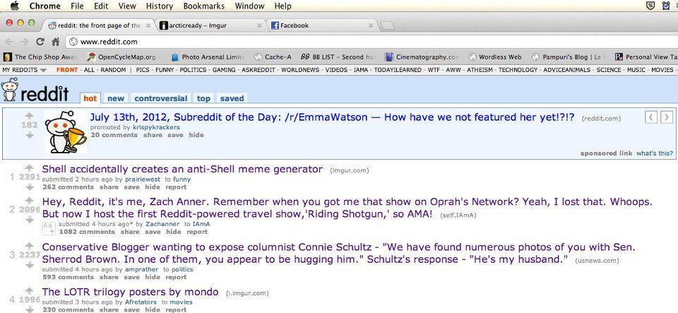 Reddit falls for Greenpeace Shell Hoax. Three words, Reddit: Mister Splashy Pants. #savethearctic