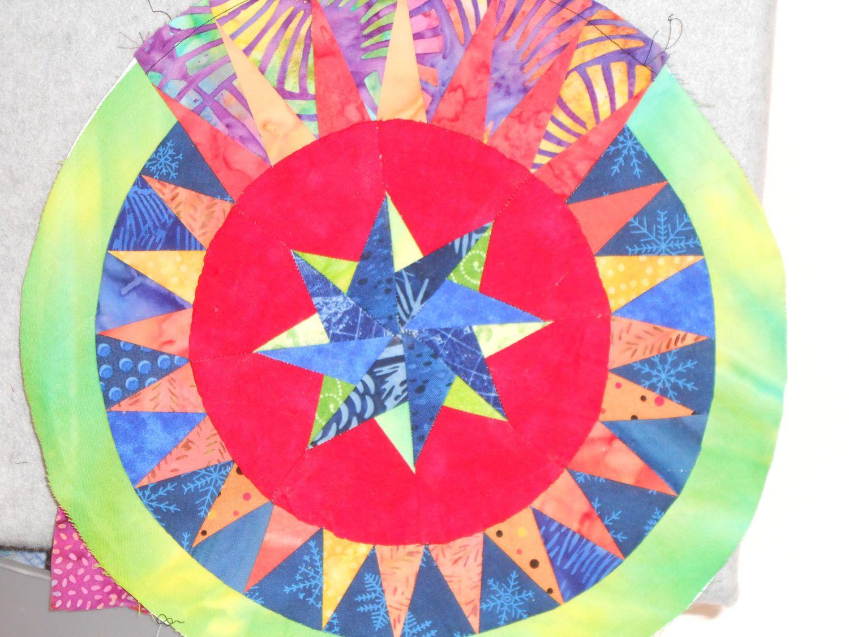 The Colourful Quilt In Progress A Jacqueline De Jonge