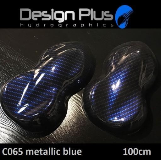 Hydrografika Folia Do Hydrografiki 3d 3d024 Mens Flip Flop Metallic Blue Flop