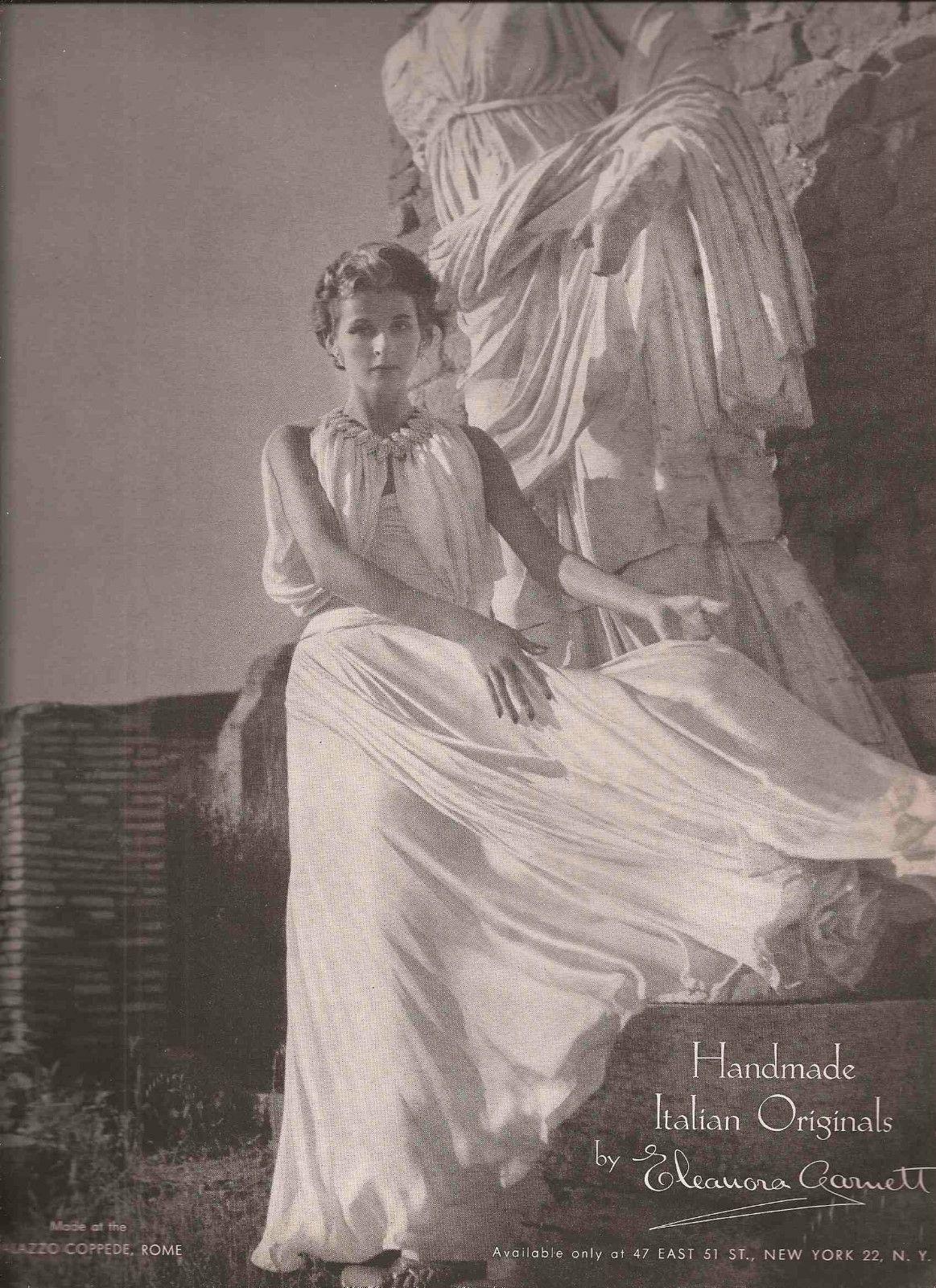 Eleanora Garnett Fashion Advertisement - Toni Frissell 1952