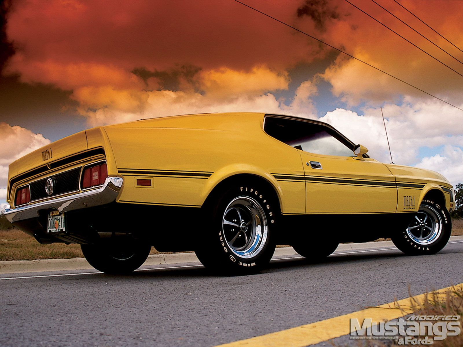 1972 mustang mach 1 1972 ford mustang mach 1 right rear. Black Bedroom Furniture Sets. Home Design Ideas