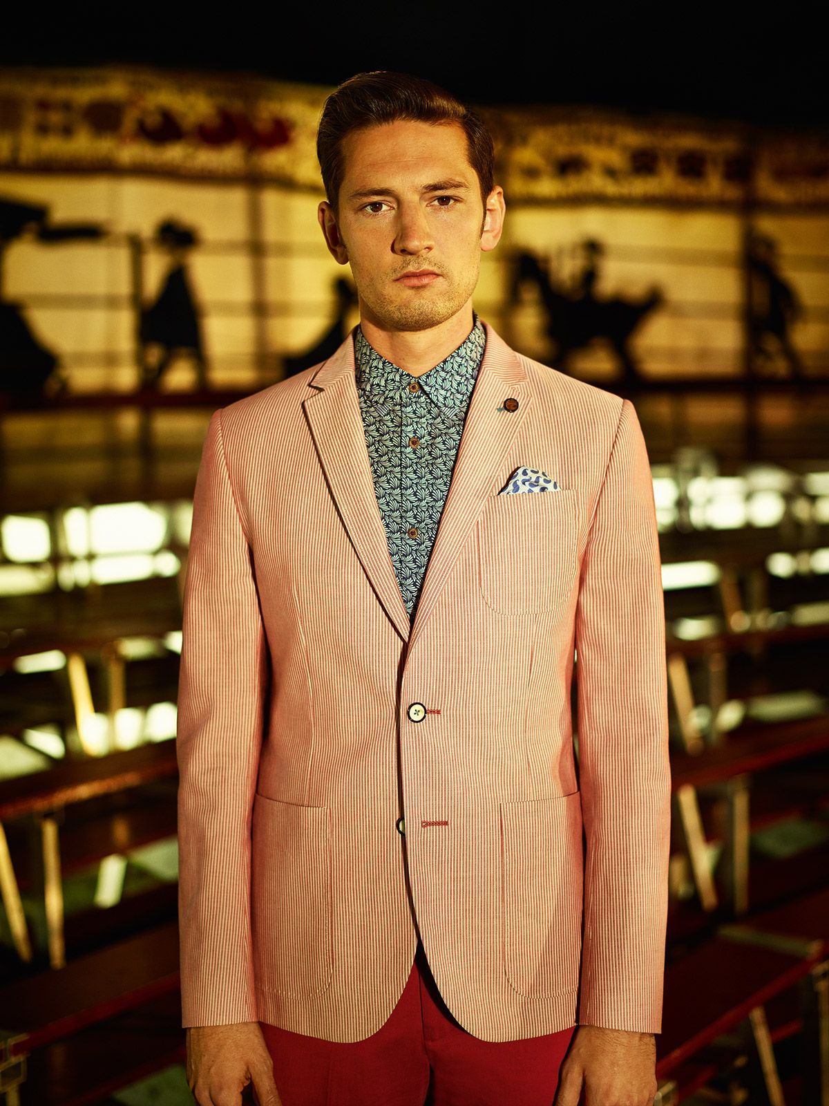 Ted Baker SS14 Lookbook Get in on the Act Mens