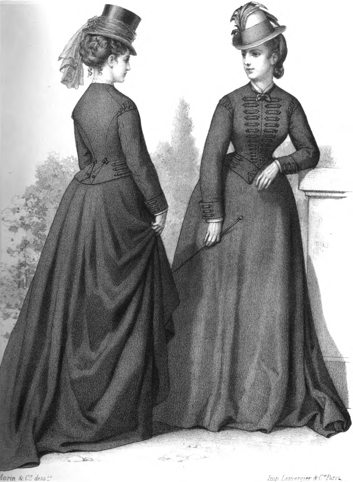 19th century fashion women 23