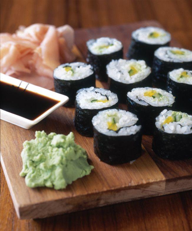 Vegetable Sushi Rolls   Williams-Sonoma Taste