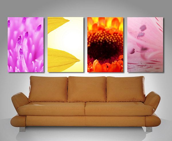 floral 4 split 5 split panel diamond pinterest wall art prints