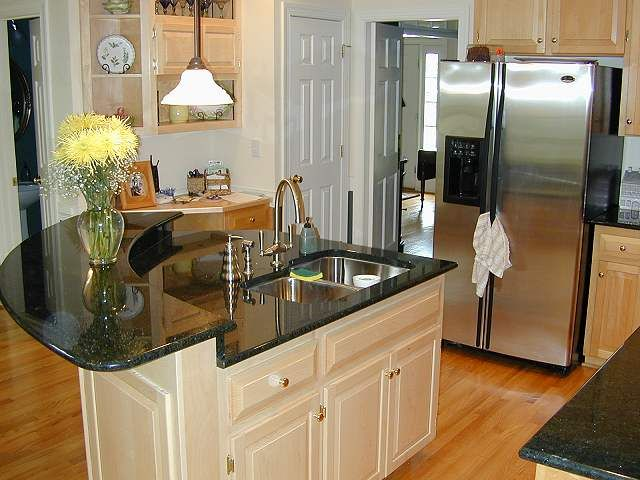 Anyone Can Do Home Improvement Kitchen Island With Sink Small Kitchen Layouts Curved Kitchen Island