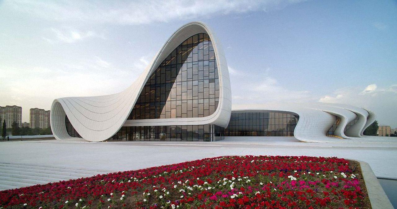 Heydar Aliyev Center Baku Baku Azerbaijan