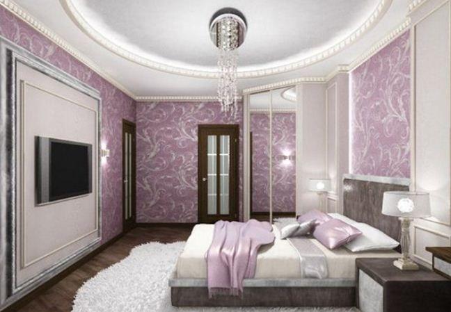 Exclusive Collections Purple Bedroom Designs Elegant