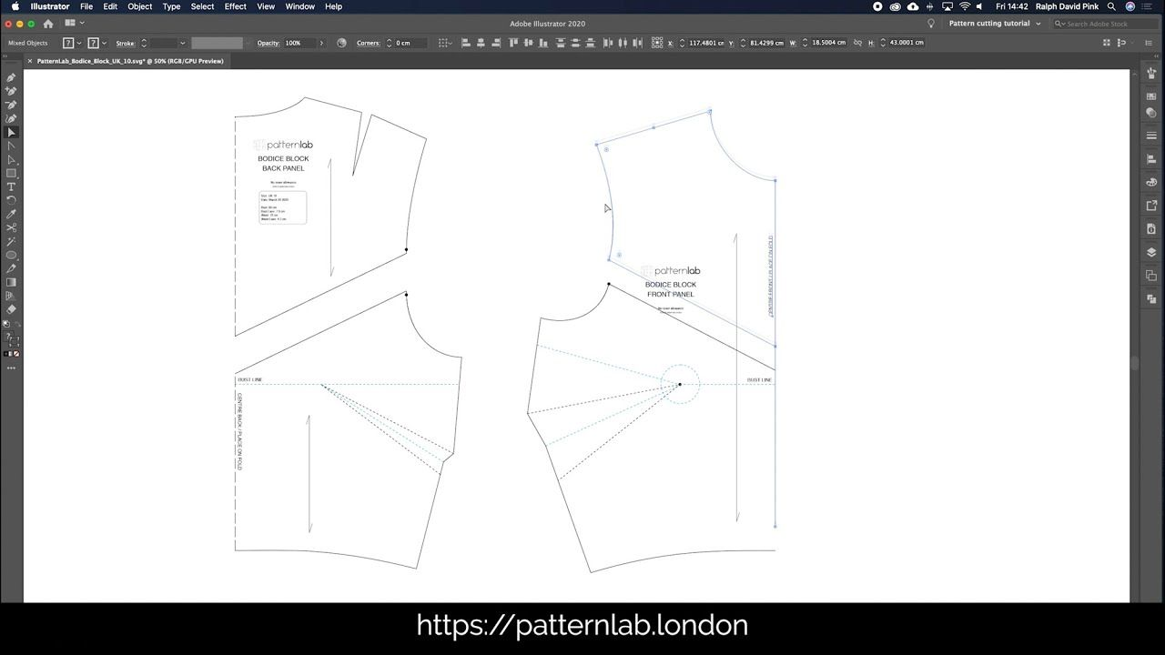 Learn Digital Pattern Making With Our Free Video Tutorials We Re