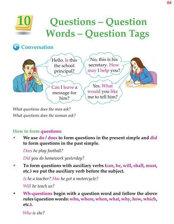 5th Grade Grammar Questions Question Words Question Question Words Good Vocabulary Words English Vocabulary Words Fifth grade grammar worksheet