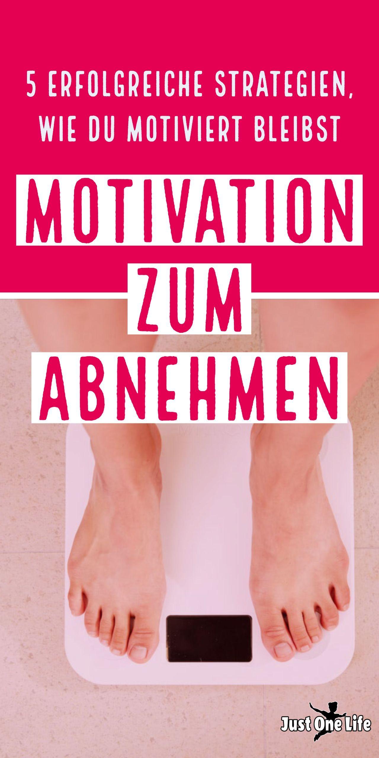 5 erfolgreiche Strategien für mehr Motivation zum Abnehmen