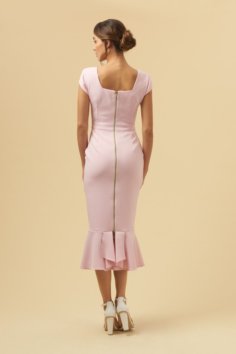 2005ec155d21 Katja Cap Sleeve Midi Dress