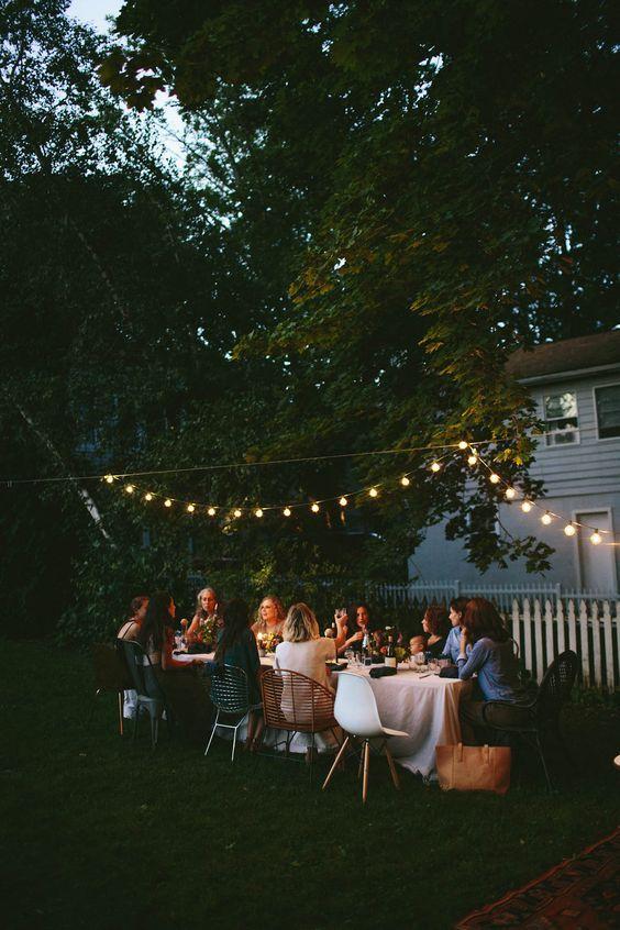 La guirlande guinguette vous aidera  prolonger vos soirées d été