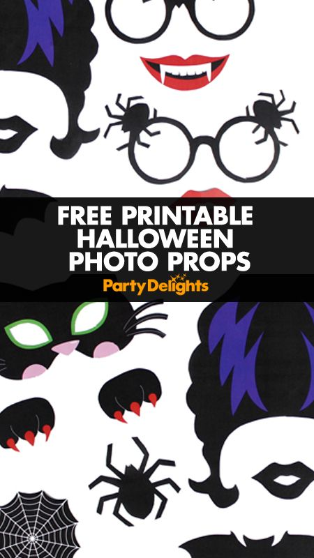photograph about Halloween Photo Booth Props Printable referred to as Printable Halloween Image Props photograph booth Halloween
