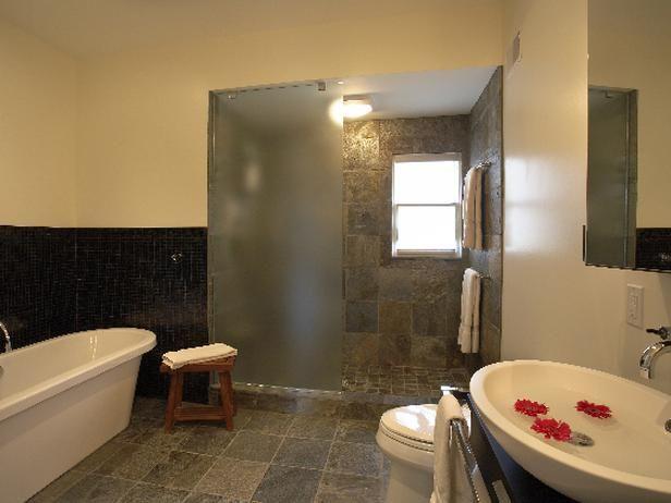 Interior Designer Bathroom Magnificent Romantic  Bathrooms  Linda Woodrum  Designer Portfolio  Hgtv Decorating Inspiration